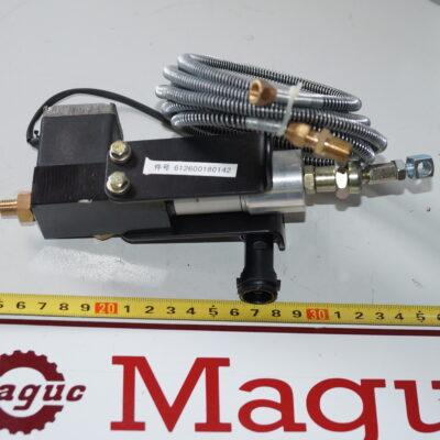 Клапан глушения двигателя WD615 612600180142 612600180144 612600180145_