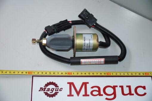 Клапан глушения двигателя WD615 612600180175