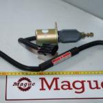 Клапан глушения двигателя WD615 612600180175_